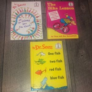 Lot of 3 Dr. Seuss Beginners series books new